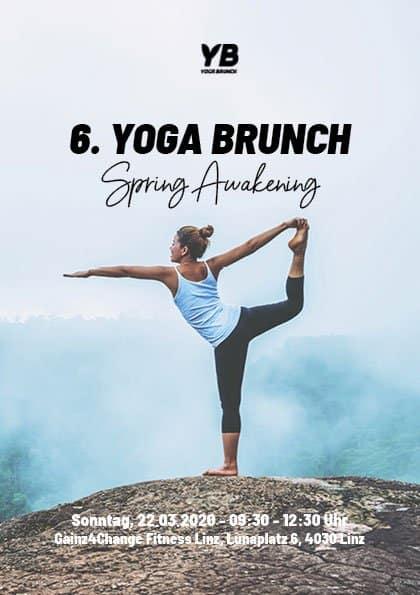 Anmeldung 6. Yoga Brunch - Spring Awakening
